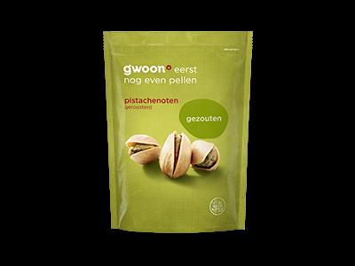 g'woon pistache noten gezouten 150g