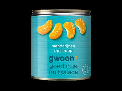 g'woon mandarijnen 310g