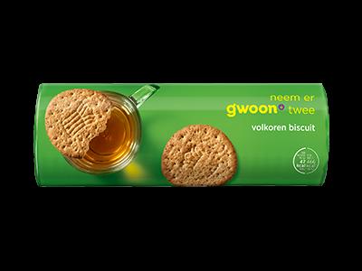 g'woon volkoren biscuit 300g