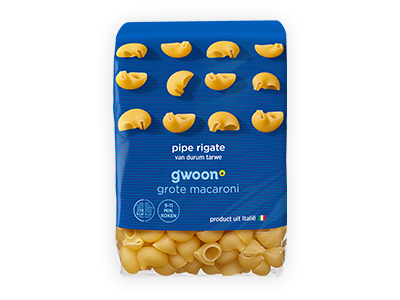 g'woon pipe rigate 500g