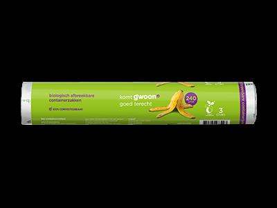 g'woon bio containerzakken 140l