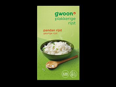 g'woon pandan rijst 400g