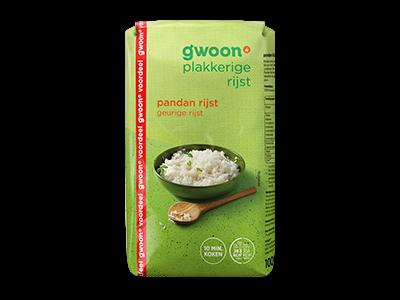 g'woon pandan rijst