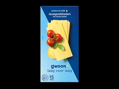 g'woon lasagnebladen