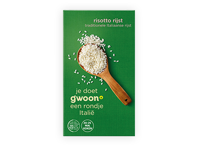 g'woon risotto rijst 400g