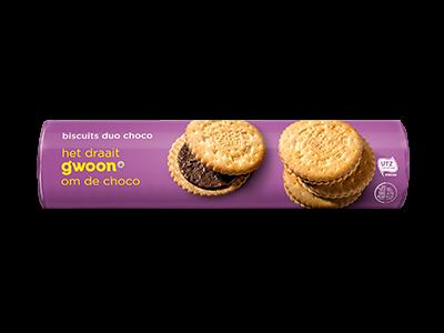 g'woon biscuit duochoco 500g