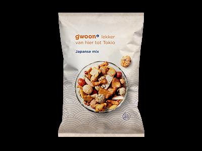 g'woon japanse mix 275g