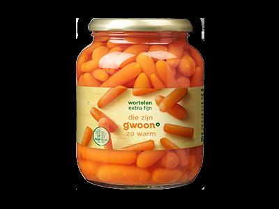 g'woon wortelen extra fijn 680g