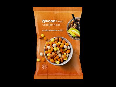 g'woon cocktailnoten mild 300g