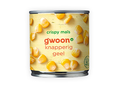 g'woon crispy mais 150g
