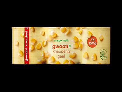 g'woon crispy mais 3x150g