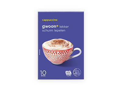 g'woon cappuccino 125g