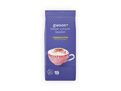 g'woon cappuccino 250g