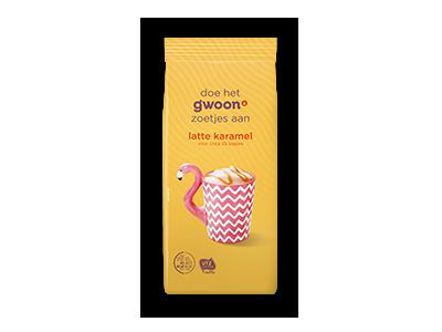 g'woon latte karamel 250g