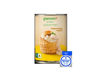 g'woon kippenvlees ragout 400 gram