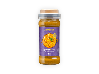 g'woon spice cap curry korma