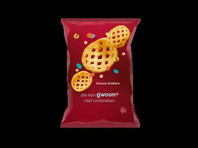 g'woon brosse brekers 125 gram