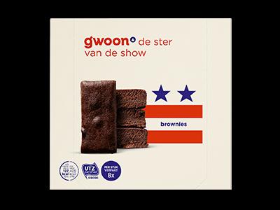 g'woon brownies 240g