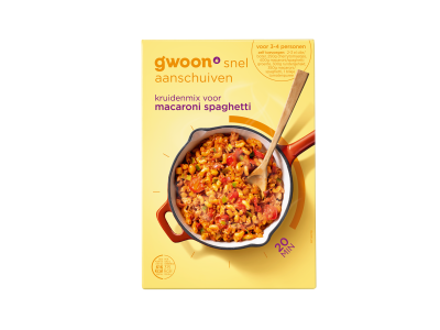g'woon kruidenmix voor macaroni spaghetti 40 gram