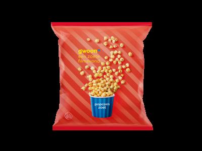 g'woon popcorn zoet 175 gram