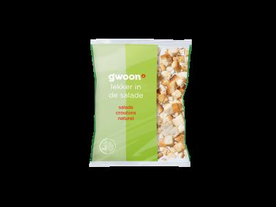 g'woon salade croutons naturel 40 gram