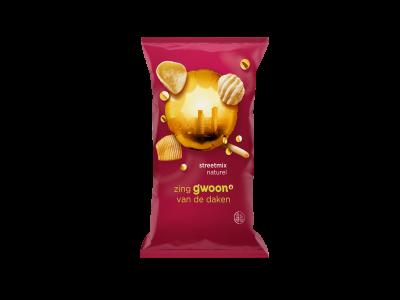 g'woon streetmix naturel 100 gram